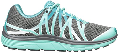 Pearl Izumi Women's indietro, Road W N 3 Running Shoe, Shadow Grey/Aqua Mint, 9,5 B siems