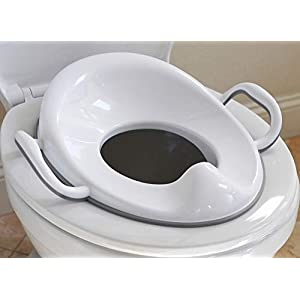 Potty Training Seat with Handles for Boys and Girls | Slip-Resistant...