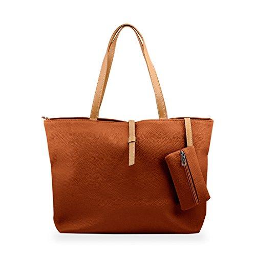 gearonic-tm-korean-lady-women-pu-leather-shoulder-handbag-shoulder-bag-brown