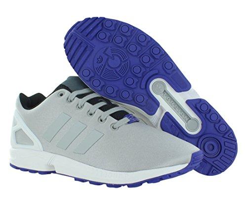 Adidas Zx Flux Heren Hardloopschoenen Maat Ons 8, Normale Breedte, Kleur Grijs / Zwart
