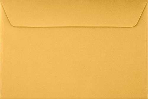 6 x 9 Booklet Envelopes - 24lb. Brown Kraft (1000 Qty) | Perfect for mailing Documents, Catalogs, Direct Mail, Promotional Material, Brochures and More| 26949-1M ()