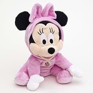 Mickey Mouse 900741 Disney Baby - Minnie de peluche en pijama, 30 cm [importado de Alemania]