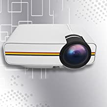 Leoie Portable Video Projector Wireless Projector Multimedia HD Home Cinema Theater Projector