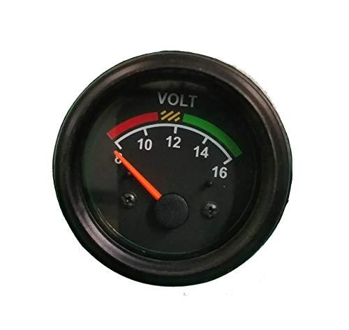Voltmeter fits Tractor Massey Ferguson 52 mm (2 1/16