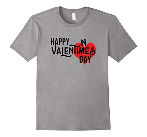 Happy Valentimes Valentines Day Grammar Police Humor T-Shirt