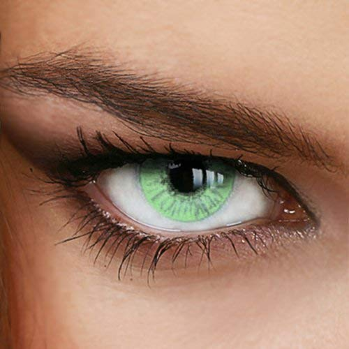 Color Change One Set Include Pure Green (Contact Eyes Color Green)
