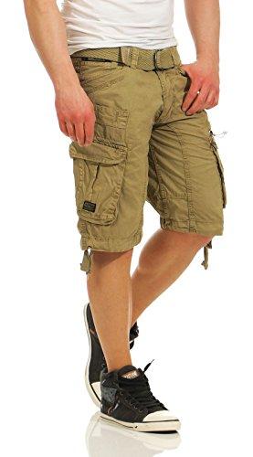 Pantalon Norvegia Uomo Pantaloncini Hommes geografici Palium Beige xxl cargo Basic Herren IBqRf