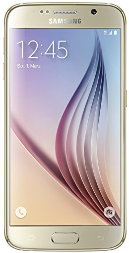 Samsung Galaxy S6 G920F Gold Smartphone (5.1 Zoll Touch-Display, 64 GB Speicher, Android 5.0) -  SM-G920FZDE
