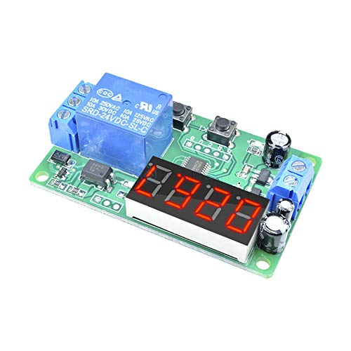 ime Delay Relay Module Timer Relay Time Control Switch Smart Home Automation ()