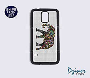 Galaxy Note 2 Case - Indian Art Colorful Elephant