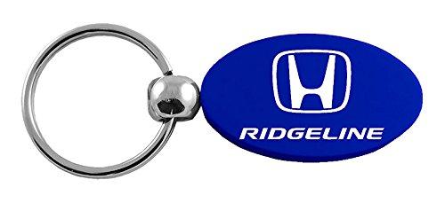 Au-Tomotive Gold INC Honda Ridgeline Blue Oval Key Chain Car Gift Fob