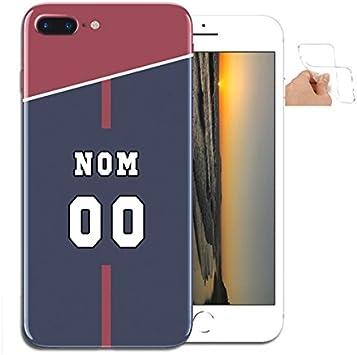 Coque iPhone 8 Plus Paris/Coque Portable Silicone Personnalisable ...