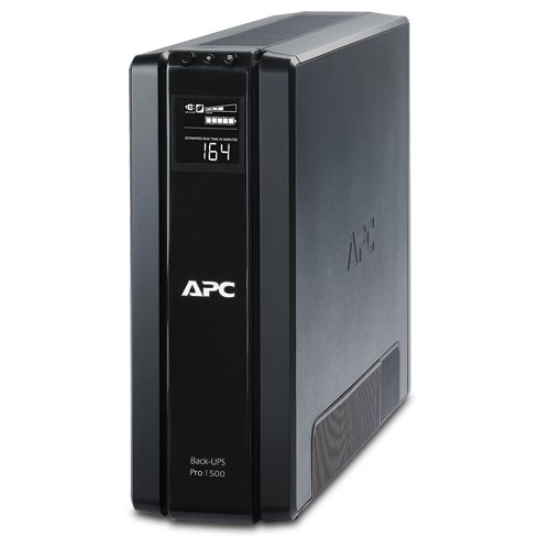 APC Back-UPS Pro 1500VA UPS Battery Backup & Surge Protector (BR1500G)