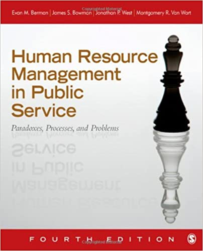 Human resource management in public service paradoxes processes human resource management in public service paradoxes processes and problems fourth edition edition fandeluxe Choice Image
