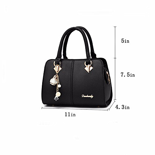 Tote Black Bag Satchel Womens Ladies Shoulder and Designer Purses Bags Handbags 1aCYgx