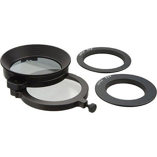 Leica Universal Top (Linear) Polarizer Glass Filter - for M Lenses for 39mm, 46mm (13356)