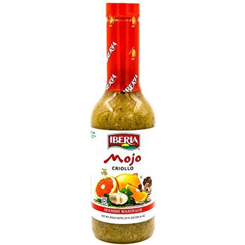 Iberia Mojo Criollo Spanish Marinating Sauce 20 FL. OZ. (Mexican Marinade)