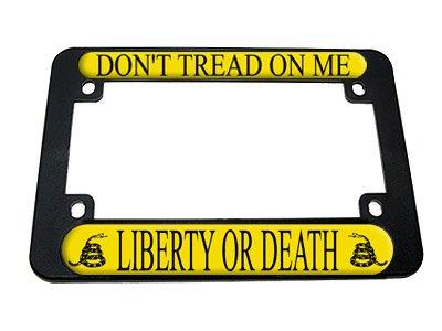 Gadsden Tread Liberty Motorcycle License