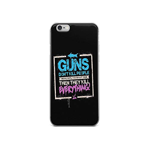 iPhone 6 Case iPhone 6s Case Clear Anti-Scratch Guns Don't Kill People, Jinx Cover Phone Cases for iPhone 6/iPhone 6s, Crystal Clear