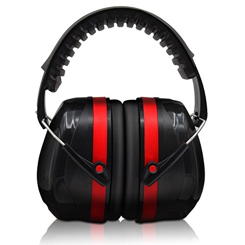 Hearing Protection, Safety Ear Muffs EN352-1 Shooters Hearing Protection Adjustable Padded Head Band & Swivel Ear Cups, Ear Defense by Warmhoming from Warmhoming
