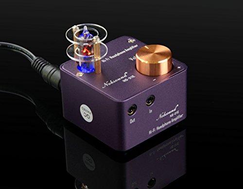Nobsound NS-01E Mini Tube Headphone Amplifier Stereo HiFi Amp Audio Preamp (Purple) Douk Audio