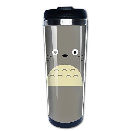 [Japanese Popular Anime Characters My Neighbor Totoro 400ml Double Walled Travel Tumbler] (Totoro Diy Costume)