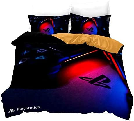 PS4 PLAYSTATION TEENS-KID BOYS ORIGINAL LICENSED SHEET SET 4 PCS FULL SIZE