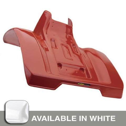 Maier 11982-1 White Rear Fender