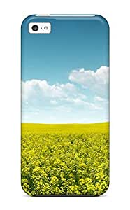 Fresh Yellow Landscape Case Compatible With Iphone 5c/ Hot Protection Case
