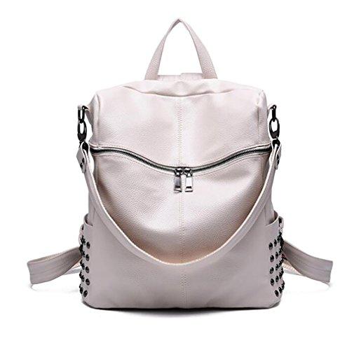 de main 29 à femmes de 34cm souple en 14 mode à dos PU cuir Sac sac décontracté sac multifonctionnel fC6ExwHaHq