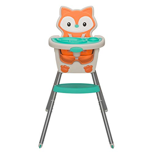 Infantino Grow-with-Me 4-in-1 Convertible High Chair, - Chair High Grow Easy