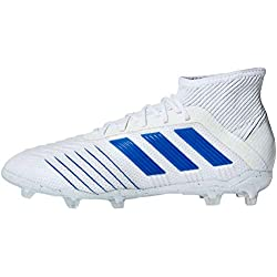 adidas Kids Unisex Soccer Predator 19.1 Firm Ground Cleats (6)