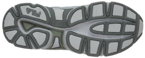 White Fila Silver Work Slip White Comfort Shoe Memory Trainer Women's Resistant 8xwqr861Z