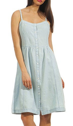 Geneva Mid Light Dress Blau Damen Wash Levi's 2 0000 Kleid 4SwqYExxnP