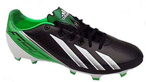 Adidas F30 TRX FG Negro Verde Blanco Hombre Zapatillas Football