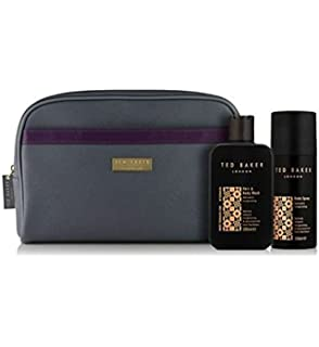 6b33b5ccc8 Ted Baker Mens Wash Bag 1 x 200ml Refined   invigorating Hair   Body ...