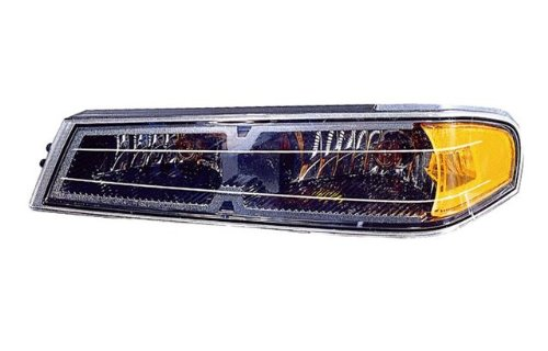 (Chevy Canyon/Colorado Replacement Turn Signal Light Assembly (Black) - 1-Pair)