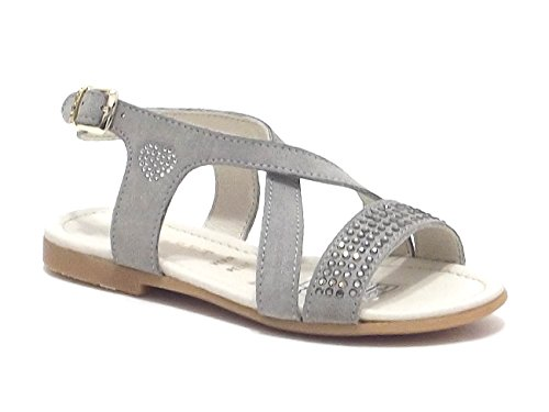 TWIN SET - Sandalias de vestir para mujer Beige nube