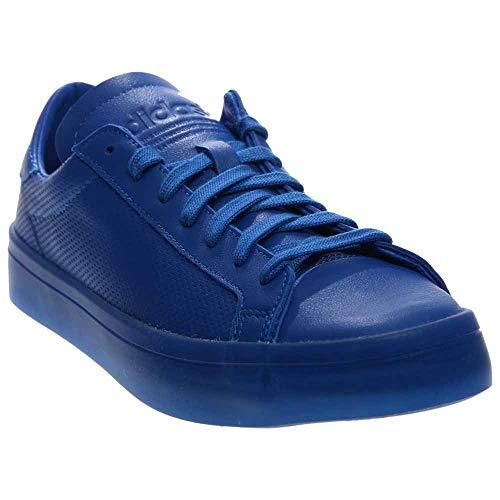 Stadium Series Perforated - adidas Men Court Vantage Adicolor (Blue) Size 9 US