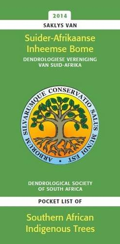 saklys van suider afrikaanse inheemse bome pocket list of 読書