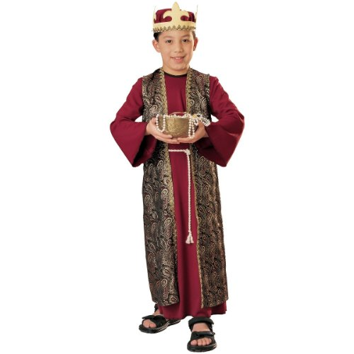 Three Wise Men Child Costume Gaspar (red with