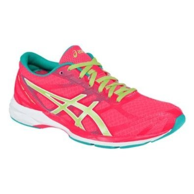 Price comparison product image ASICS Women's Gel-DS Racer 10 Running Shoe, Hot Pink / Sunny Lime / Emerald, 7.5 M US