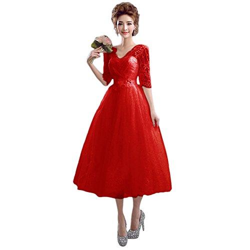 Ad Red Linea A Vimans Donna Vestito 8REw74