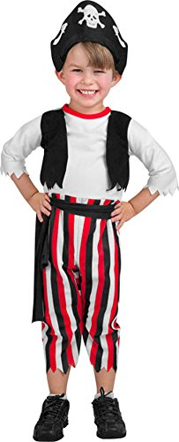 Soft & Cuddly Costumes Pirate - Toddler -