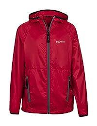 Marmot Ether Boys' Lightweight Hooded Windbreaker Jacket