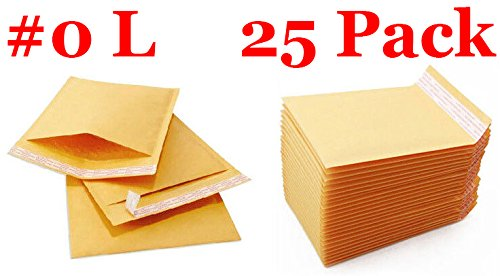 Recycled Premium Envelopes (Everyday Essentials EE-BM0-25 Kraft Bubble Mailers Padded Envelopes)