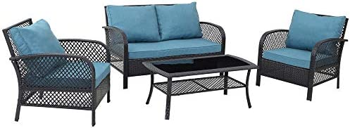 GREARDEN 4 Pieces Patio Set