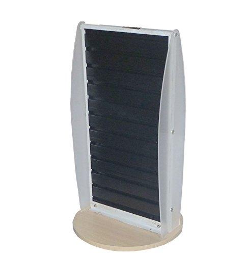 Fixture Displays Slatwall Display Countertop Spinner Rack POP POS Retail Stand 11561 11561BLACK