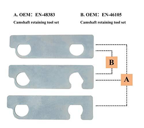 Camshaft Retaining Tool Set EN 48383 EN 46105 Alternative