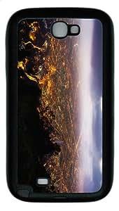 case fashion Bogota Night TPU Black case/cover for samsung galaxy N7100/2